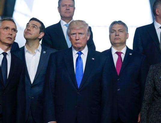 Дональд Трампа, встреча, НАТО, Великобритания, Россия, США