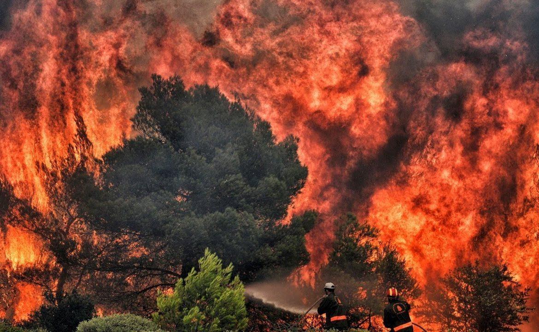 пожары в Греции, аномальная жара, погибшие и пострадавшие, национальная трагедия