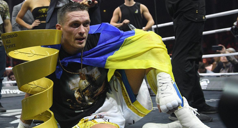 Александр Усик, победа Усика, национальный герой, братья Кличко, профессиональный бокс