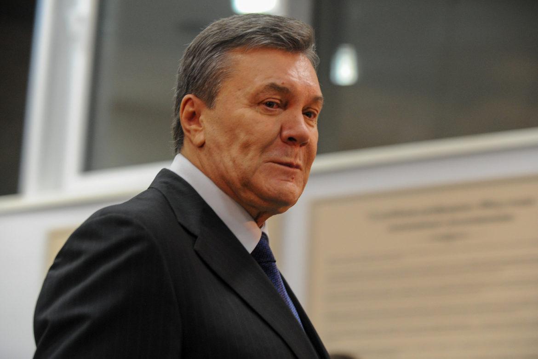 Янукович, Киев