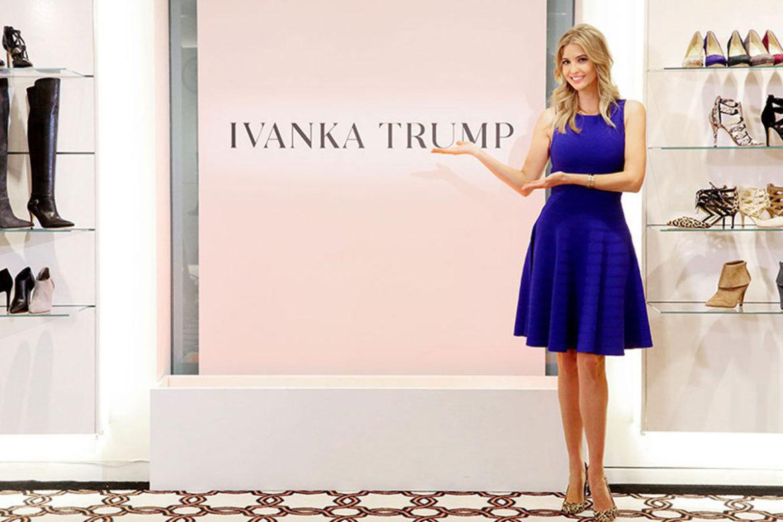 Иванка Трамп, дочь президента, закрыть компанию, бренд одежды