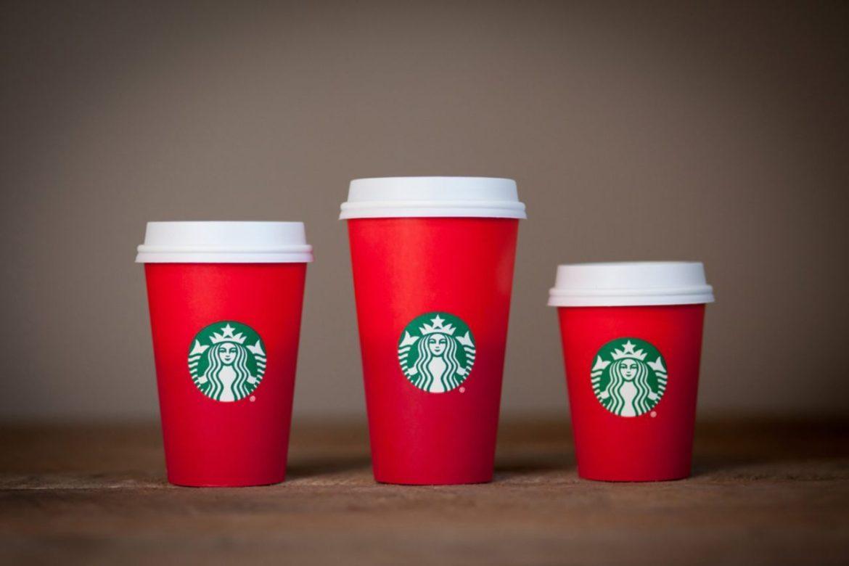 Starbucks, одноразовый стаканчик
