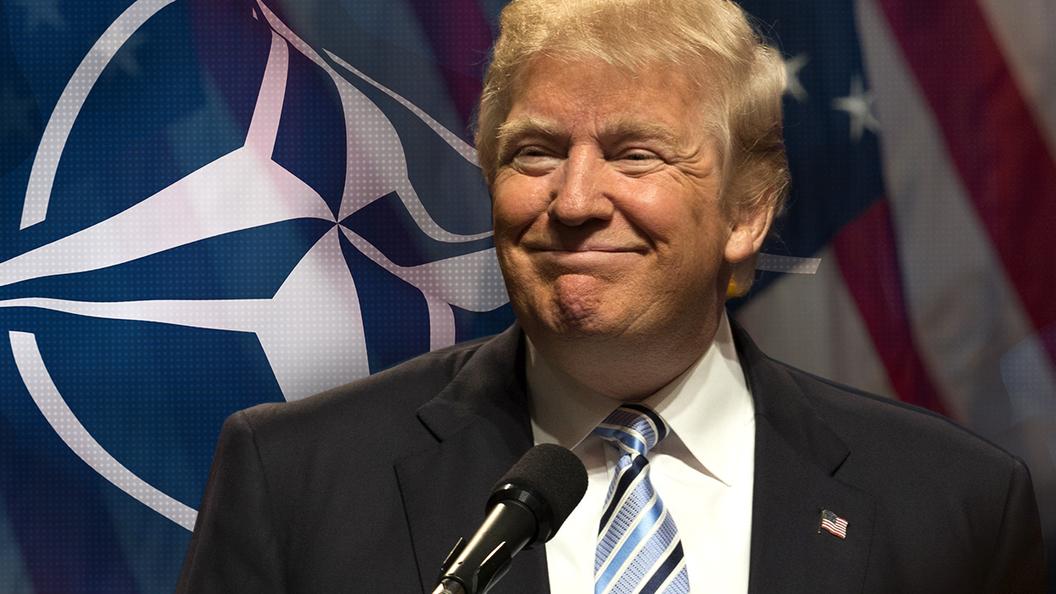 Трамп, саммит НАТО, США, военные расходы, Трамп в Великобритании