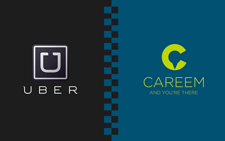 Uber, Careem, сервис поездок, Ближний Восток