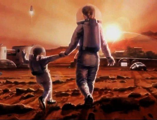 колонизация Марса, NASA