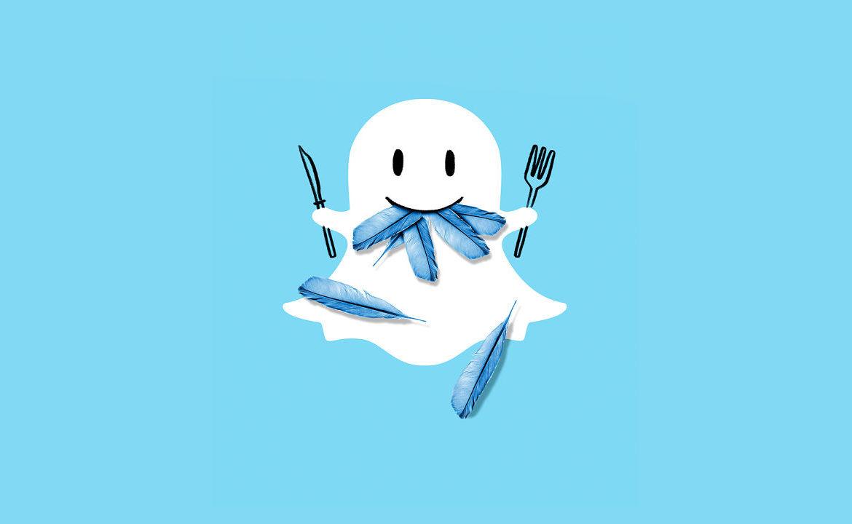 социальная сеть, Snapchat, Facebook
