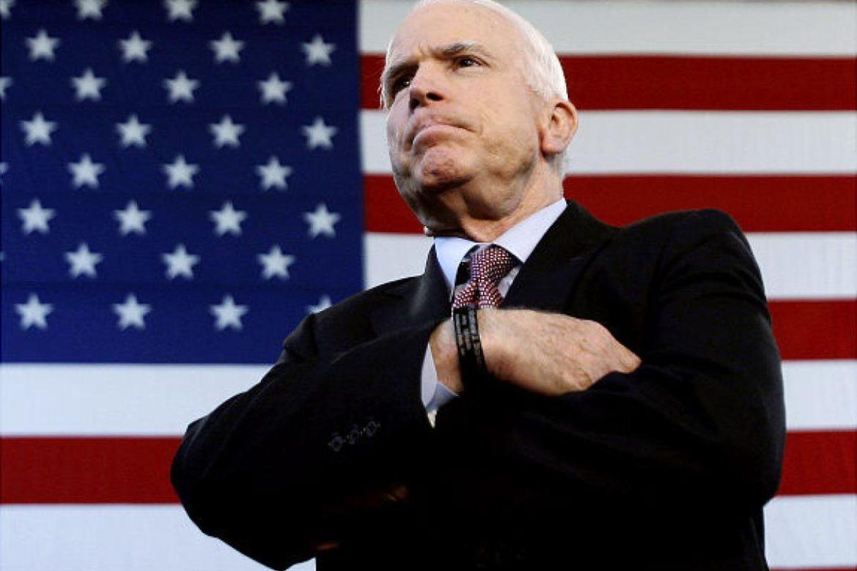 скончался Джон Маккейн, сенатор Джон Маккейн, президент США Трамп, политика США