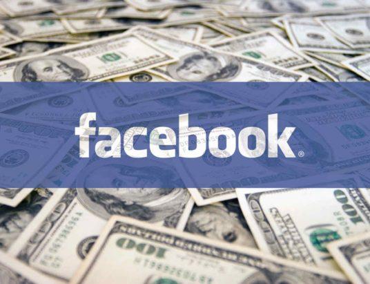 создать страницу Facebook, монетизация Facebook, заработок Facebook, фан-страница
