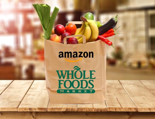 доставка Amazon, Whole Foods, интернет доставка продуктов