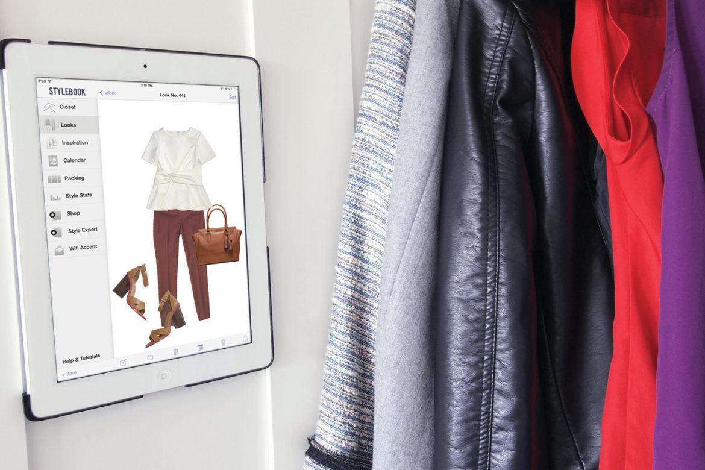 выбор одежды, приложение одежды, гардероб стилист, наряды на каждый день