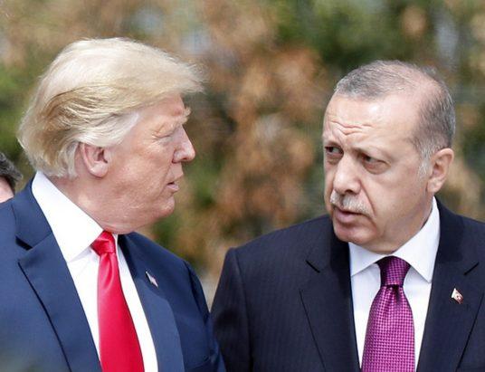 ситуация в Турции, Трамп санкции, Реджеп Эрдоган