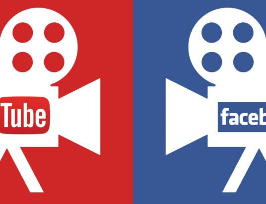 Facebook, Youtube, авторское право