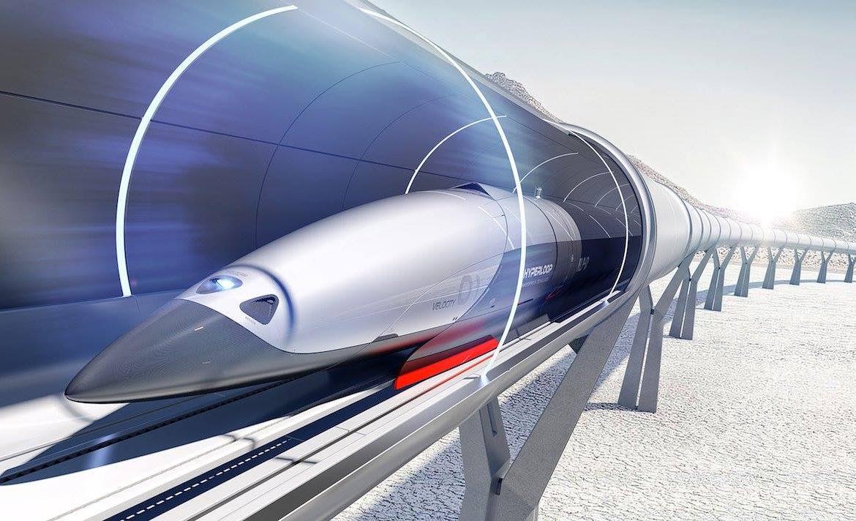 гиперлуп, поезда будущего, Hypperloop, Владимир Омелян, транспорт Украины