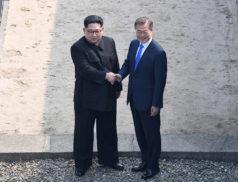 Ким Чен Ын, Мун Чже Ин, саммит