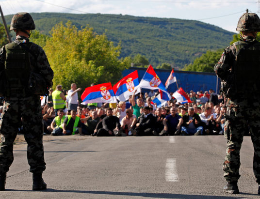 Сербия и Косово, обмен территориями