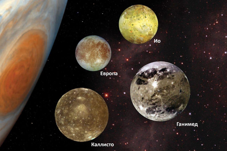 жизнь на других планетах, Европа спутник юпитера, Ганимед спутник