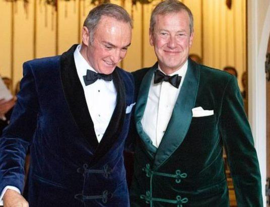 лорд Маунтбаттен, британская королевская семья, однополый брак