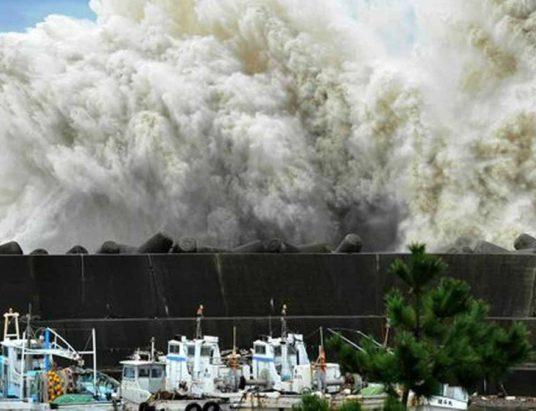 землетрясение в Японии 2018, Тайфун Джеби в Японии, сколько людей пострадало, жители Японии