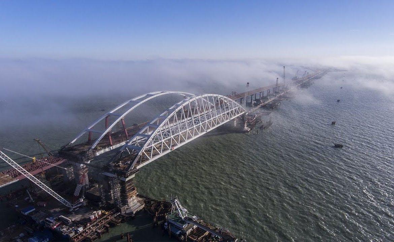 обрушение Крымского моста, сколько стоит Крымский мост, во сколько обошелся Крымский мост, сколько км Крымского моста, Крымский мост через Керченский пролив