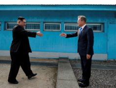 исполнение мирового соглашения, КНДР и Южная Корея, Северная и Южная Корея, Мун Чжэ Ин и Ким Чен Ын