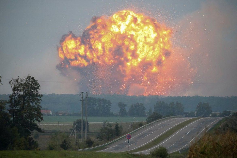 взрыв склада, склад боеприпасов, Ичня, причины пожаров и взрывов
