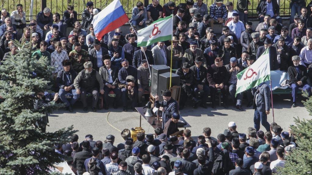 граница между Чечней и Ингушетией, Ингушетия и Чечня конфликт 2018, Рамзан Кадыров в Ингушетии, Сунженский район Ингушетия, территория Чечни и Ингушетии