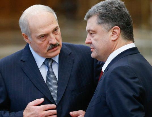 Как связаны Лукашенко и Порошенко? | Новости о войне на Донбассе