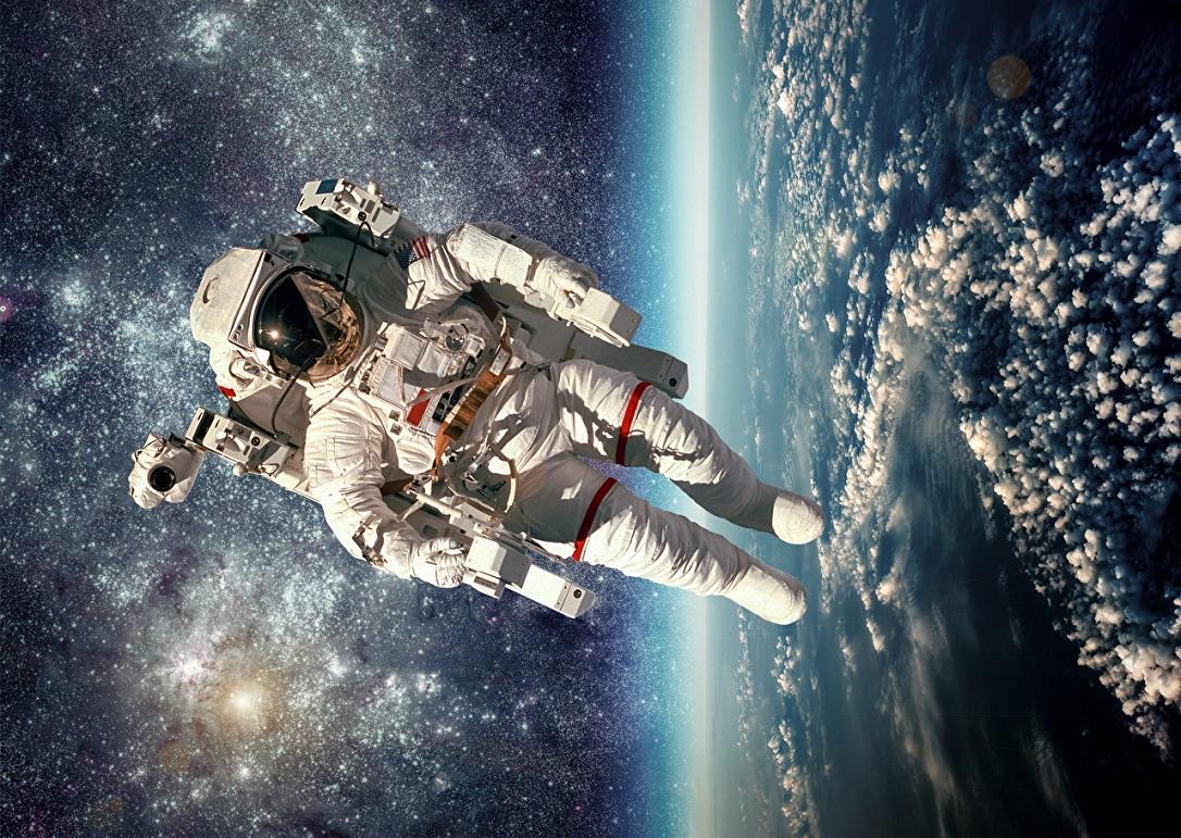Картинки космонавты в космосе, прикольные