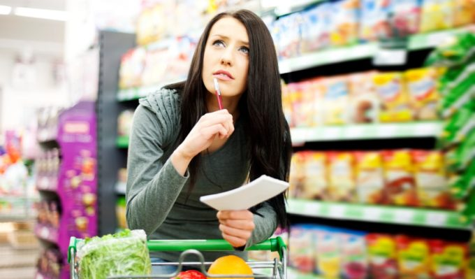 Экономия в супермаркете