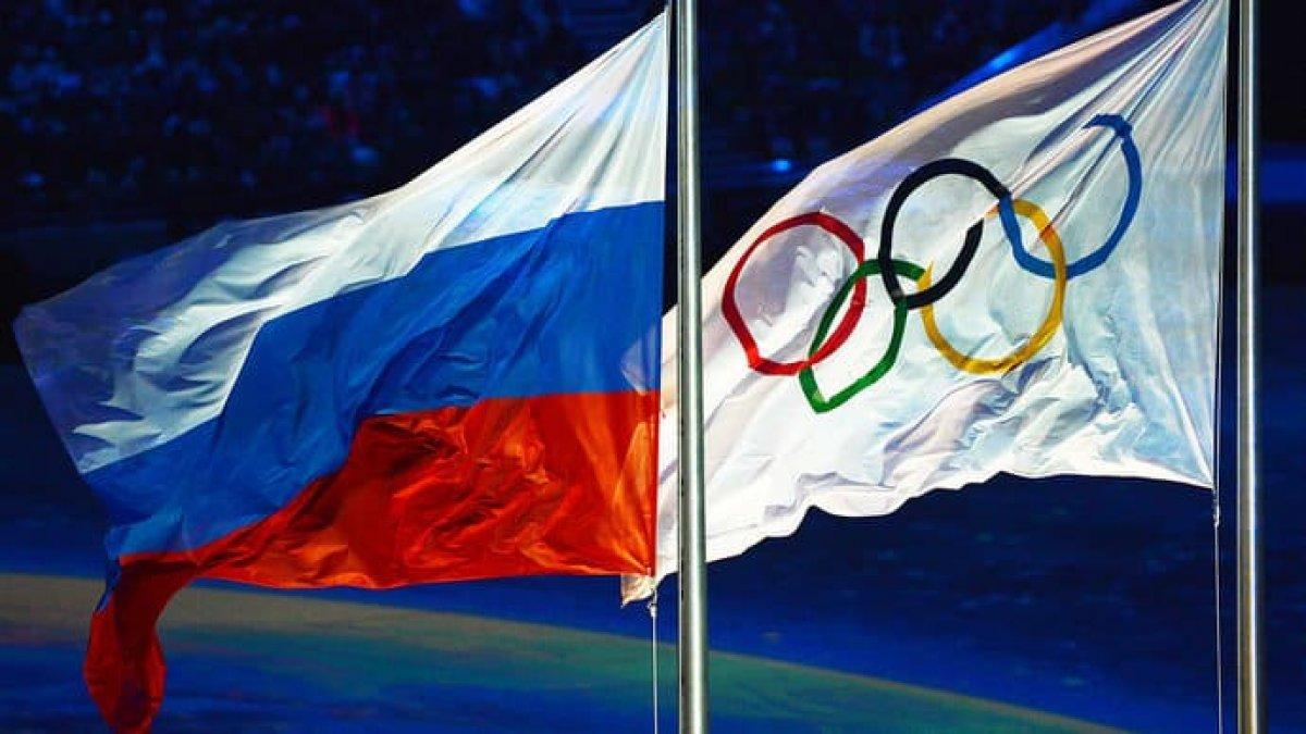 Флаг России на олимпиаде