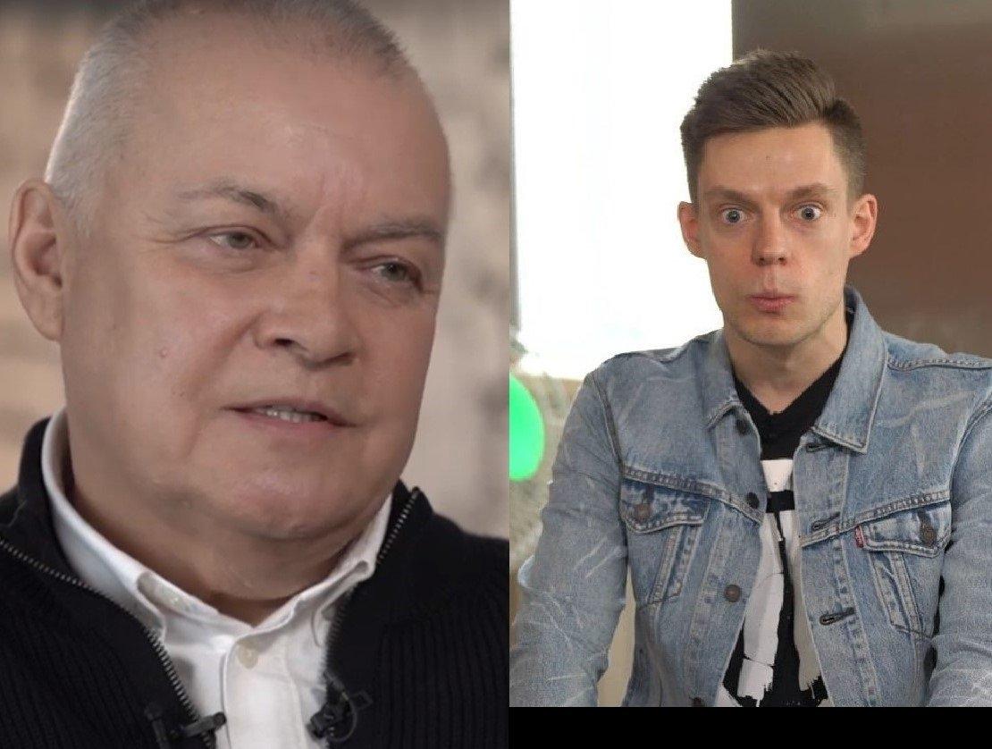 Дмитрий Киселев и Юрий Дудь