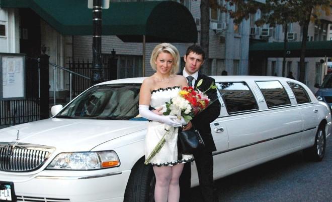 Свадьба Марии Захаровой