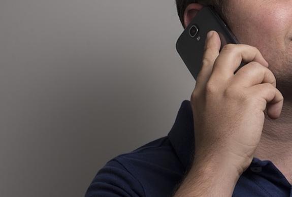 Разговор по смартфону