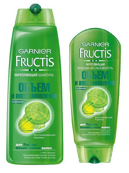 Garnier Fructis «Объем и восстановление»