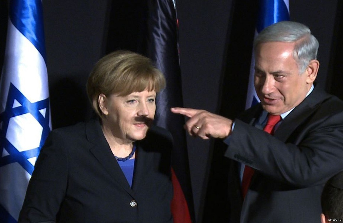 Усы фрау Меркель