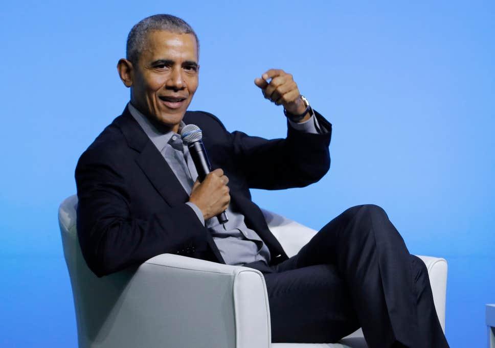 Речь Обамы под гимн Великобритании