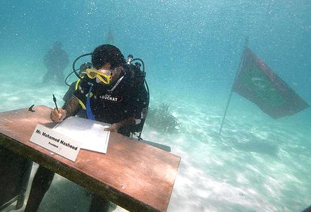 Совещание под водой