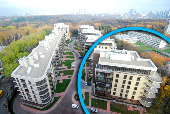 Дом, в котором расположена квартира Рогозина