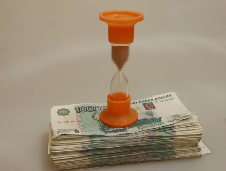 Деньги и песочные часы