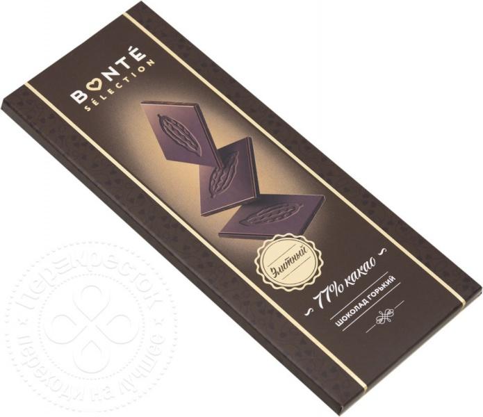 Темный шоколад «Bonte Selection»