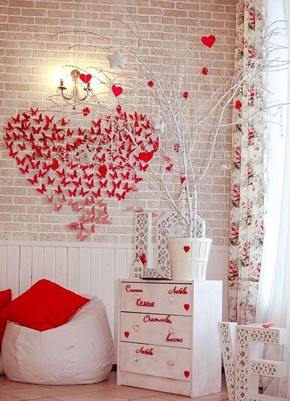Украшения на День Валентина