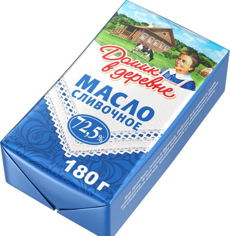 """сливочное масло """"Домик в деревне"""""""