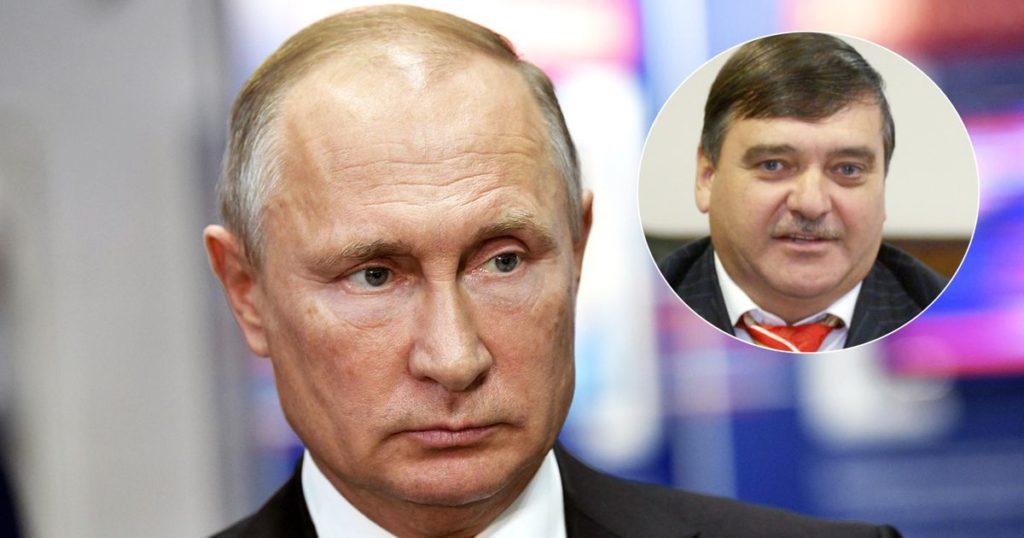 Владимир Путин и Игорь Путин
