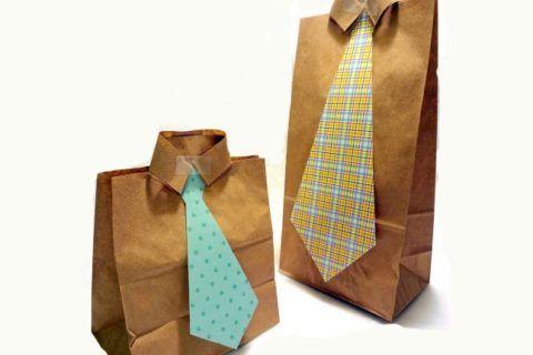 """подарочная упаковка """"галстук"""""""