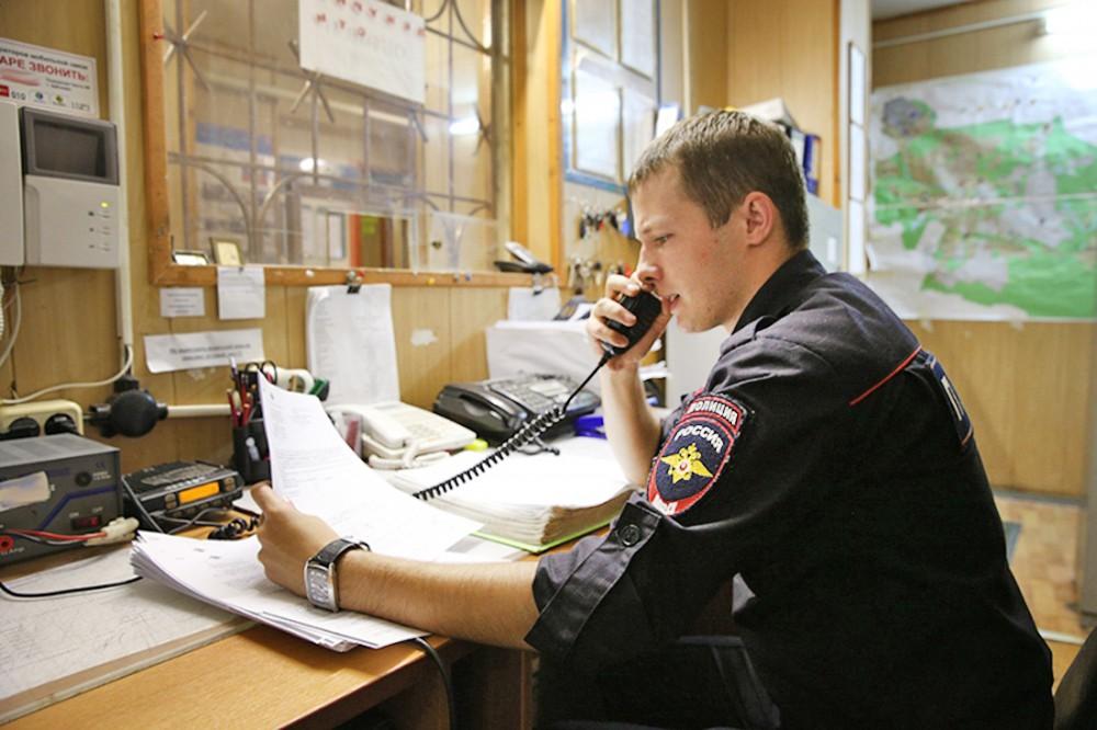 дежурный полиции