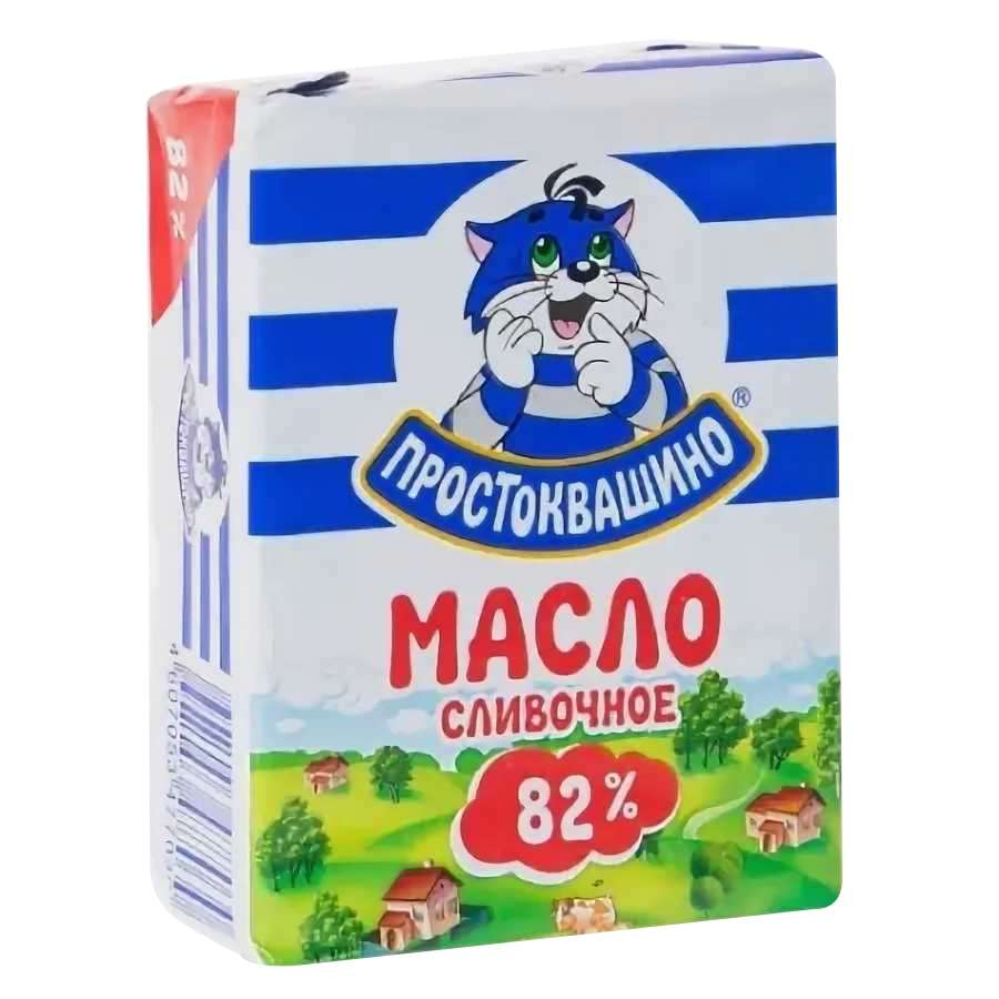 Масло Простоквашино