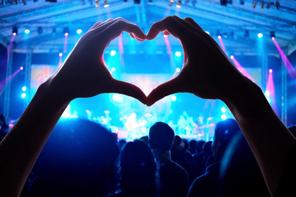Концерт и сердечко