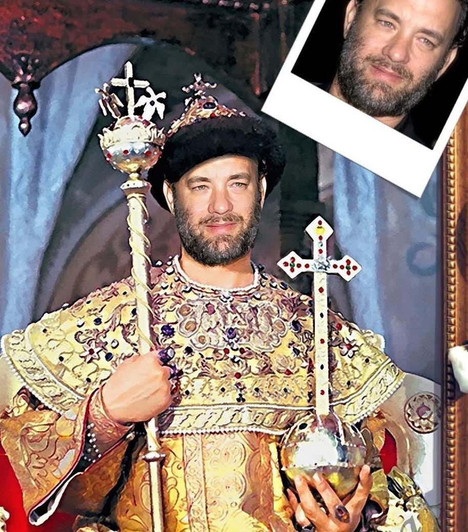 Портрет в образе известного исторического деятеля