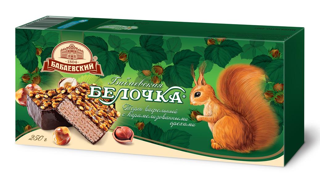 вафельный торт Бабаевский