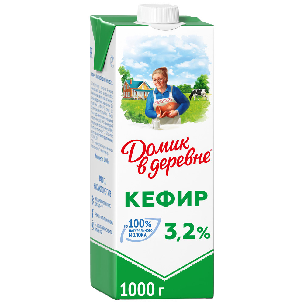 кефир Домик в деревне